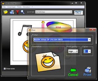 برنامج, إحترافي, لإنشاء, وصناعة, أغطية, وأغلفة, الأسطوانات, CD ,DVD
