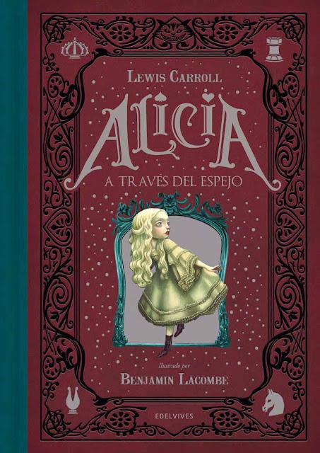 Benjamin Lacombe Portada del Libro Alicia a traves del espejo