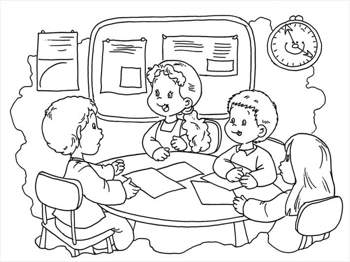 Figuras De Ninos De Educacion Inicial Para Conorear Imagui