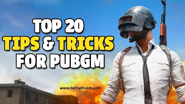 Top 20 PUBG Mobile Tips and Tricks Advanced To Get  Chicken Dinner