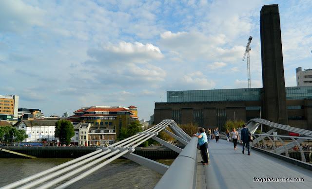 Londres:Teatro Globe e a galeria Tate Modern