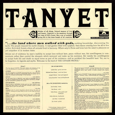 The Ceyleib People - Tanyet (1968)