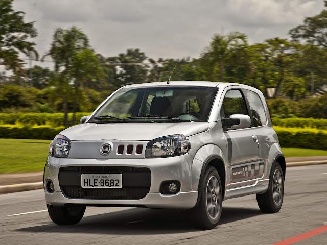 Fiat Uno 2012 - recall