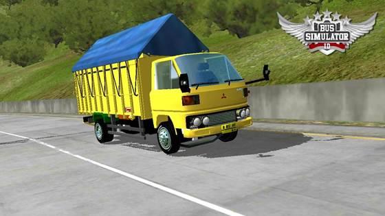 Mod Truck Tua Umplung Terpal Segitiga
