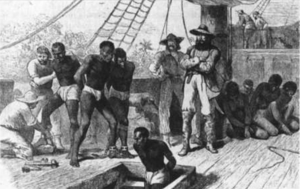 Azotando a dos esclavos - 1 part 9