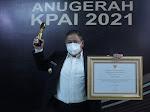 Dairi Satu Dari 10 Kabupaten se-Indonesia Raih Anugerah KPAI 2021