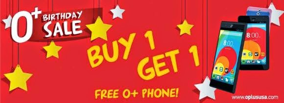O+ Birthday Sale, Get A Free Phone or Up To Php4,000 Discount