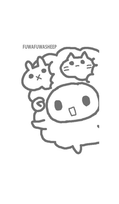 FUWAFUWASHEEP GRAY