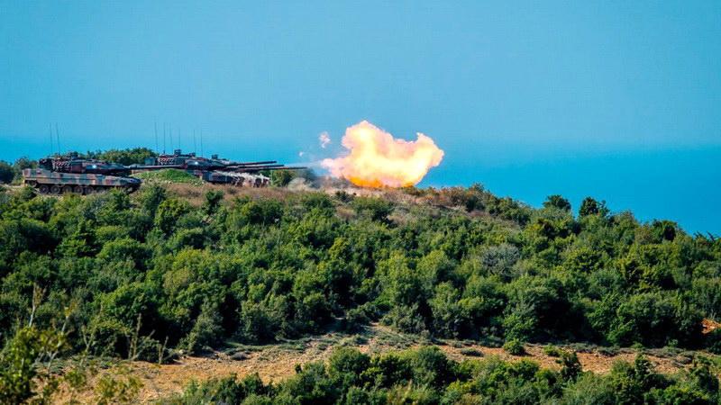 Βολές όπλων ευθυτενούς τροχιάς στο Πεδίο Βολής «Αετός» Αλεξανδρούπολης