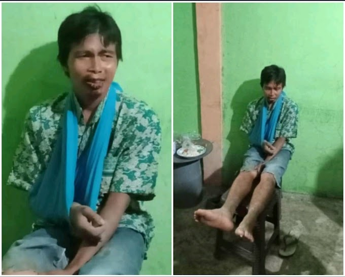 Sosok Pria Tanpa Identitas Yang Ditemukan Warga Saneo Terungkap, Namanya Syamsuddin