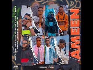 YNS cypher Ameen,Yns ft Dj AB x Jigsaw x Zayn Africa x Feezy x Lil Prince x Marshall x Geeboy x Bestkiddo ameen,Download latest yns cypher Ameen, dj ab ameen mp3 download