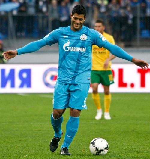 Porto Contra Krasnodar: Incrivel Hulk: Outubro 2012