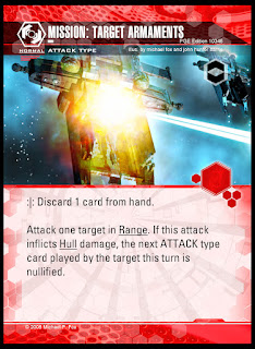 Attack type: Mission Target Armaments