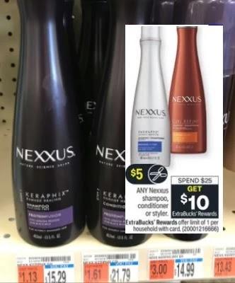 free nexxus cvs