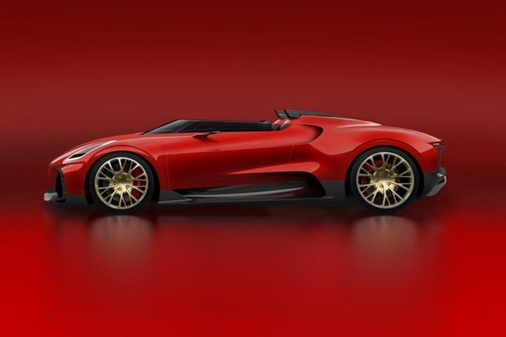 Bugatti Chiron Roadster giá 10 triệu USD sẽ độc nhất vô nhị?