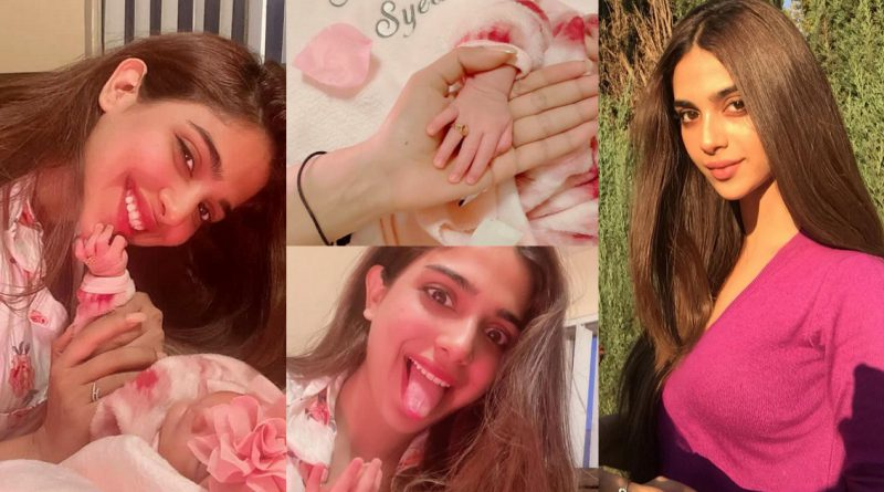 Sonya Hussain shares New pictures of Her Niece Syeda Minsa