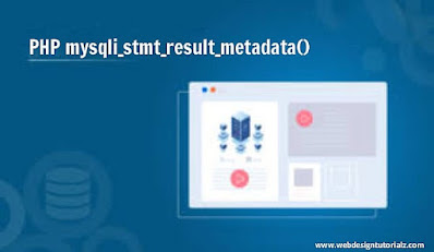 PHP mysqli_stmt_result_metadata() Function
