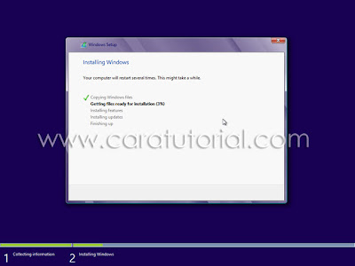 Cara Tutorial Install Windows 8