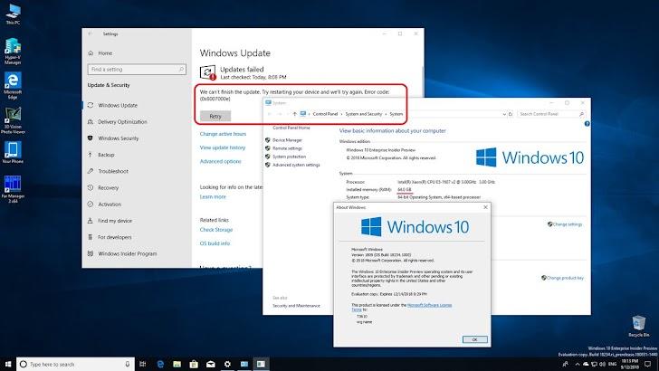 Microsoft Rilis Windows 10 19H1 Build 18237 Untuk Member Skip Ahead