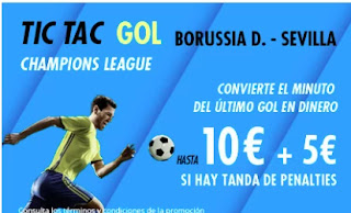 suertia promo Dortmund vs Sevilla 9-3-2021
