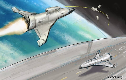 DARPA plans for Reusable Hypersonic Unmanned Space Plane
