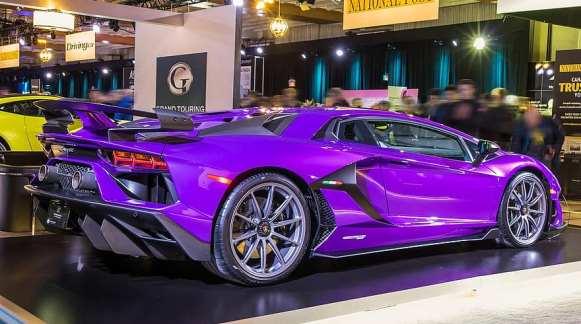 mobil sport ungu
