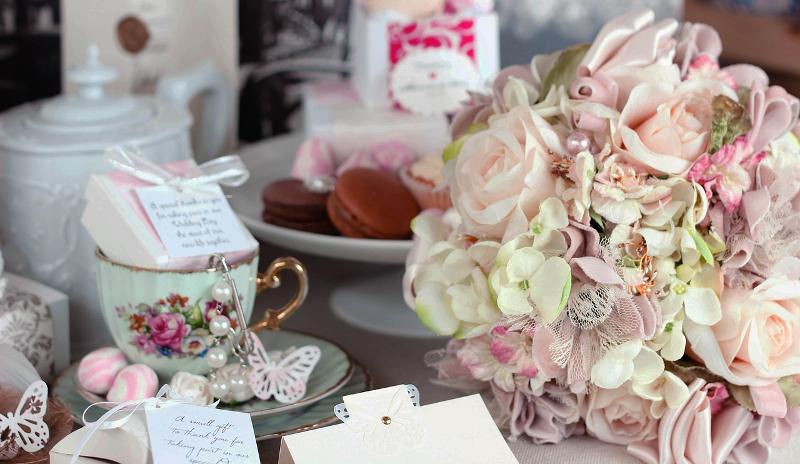 wesele pastelowe kolory dekoracje
