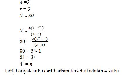 Contoh Soal Barisan dan Deret Geometri - Partner Studi ...