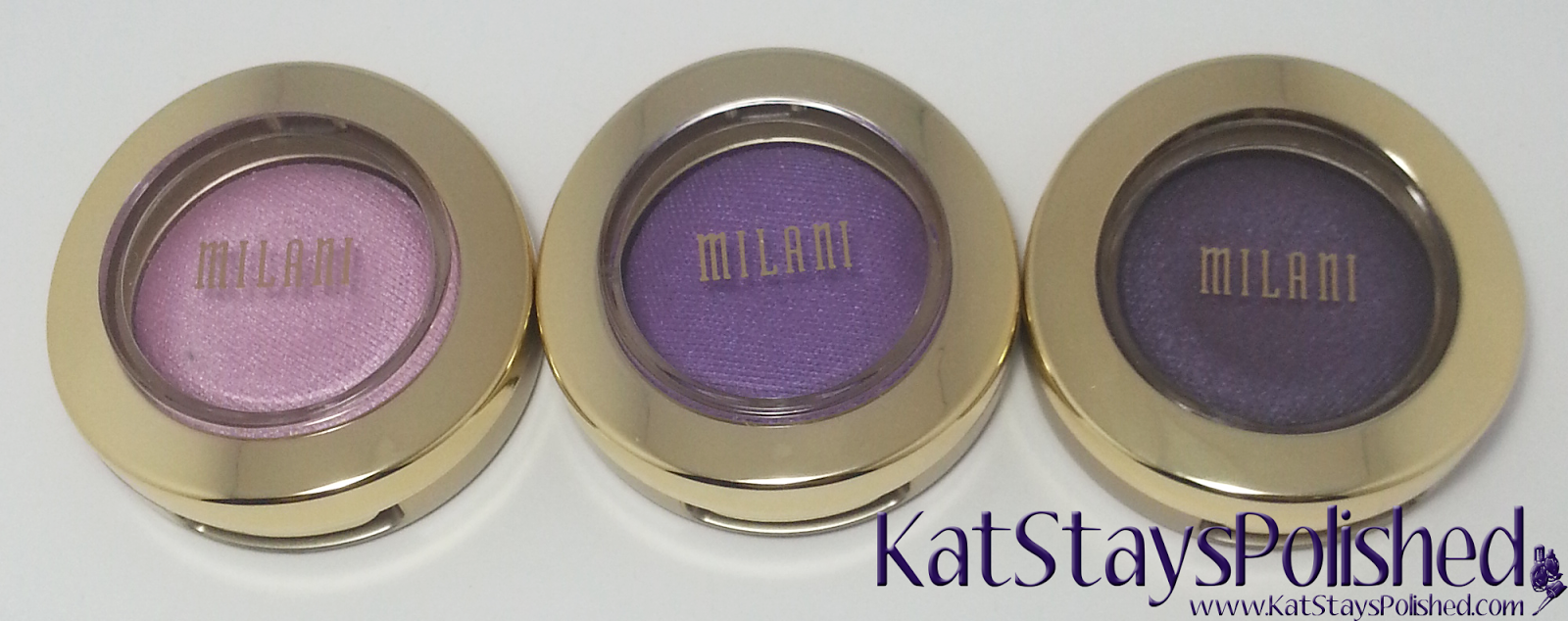 Milani Bella Eyes Gel Powder Eye Shadow - Pink - Violet - Purple | Kat Stays Polished