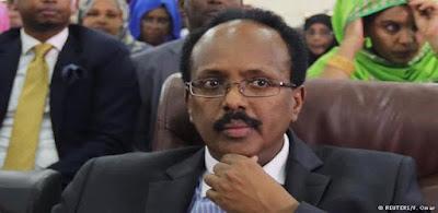 الرئيس الصومالى المنتخب