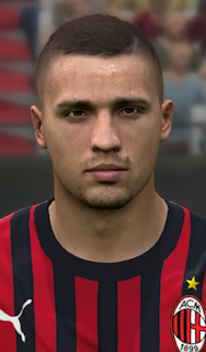 PES 2017 Faces Rade Krunić by WER