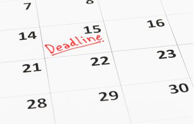 kalender dead line