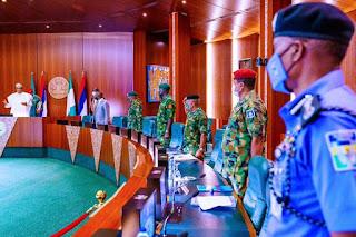 #EndSARS: President Buhari Summons National Security Council Meeting