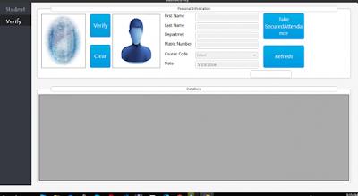 Biometric Attendance Management System
