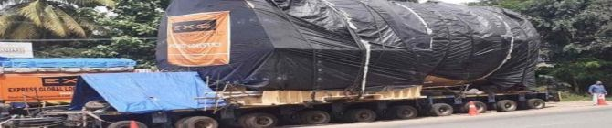 ISRO Truck Blocked By Communist Workers Demanding 'Nooku Kooli' In Kerala