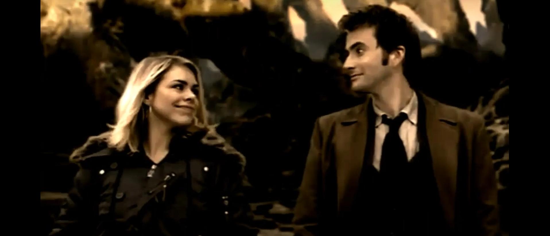 Кадр из сериала Доктор Кто Доктор и Роза
