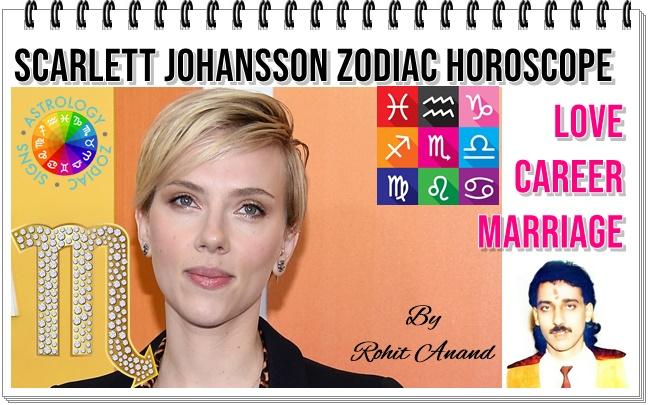 Scarlett Johansson Birthday Horoscope Zodiac Sign Birth Charts Analysis