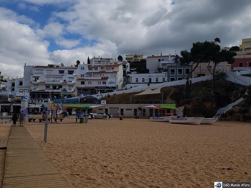 Carvoeiro no Algarve, Portugal