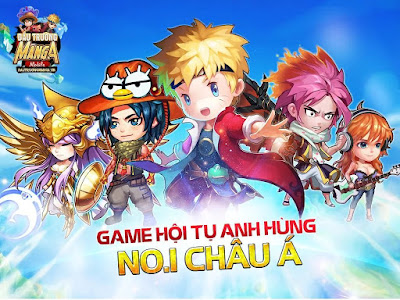 tai game dau truong manga cho iphone, ipad