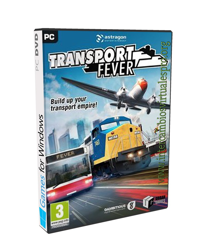 Transport Fever poster box cover