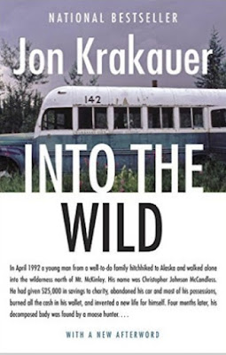 Into the Wild by Jon Krakauer (book cover)