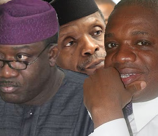 2019: Buhari Shops For New VP; Pencils Fayemi, Kalu As Osinbajo's Replace,Replacement