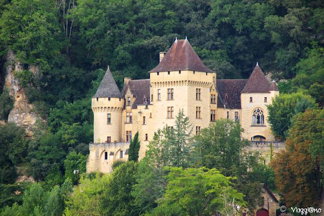 Castello de la Malartrie, fuori dal centro abitato della Roque Gageac