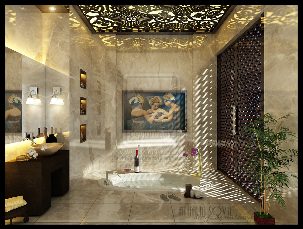 wonderful luxury modern bathroom design   Avant-Garde Modern Furniture Blog: A Plastic Home and some ...