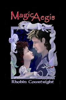 """Cover """"Magic Aegis"""""""