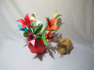 Hướng dẫn cách gấp hoa ly bằng giấy đơn giản