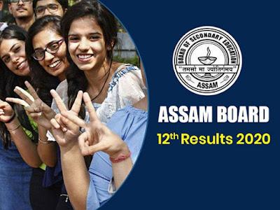Assam 12th Class Result