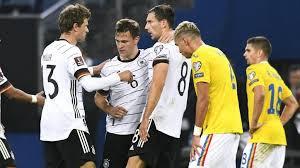 وانتهت المباراة بفوز ثمين للمنتخب الألماني على منافسه مقدونيا برباعية دون رد