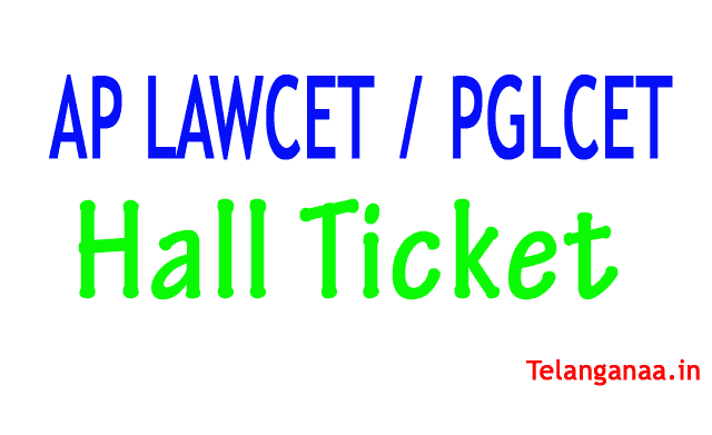 AP LAWCET Hall Ticket AP PGLCET Hall Ticket