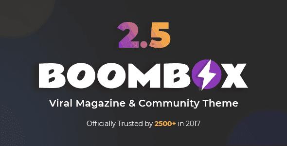 Tải và Active bản quyền Theme BoomBox Viral Magazine WordPress
